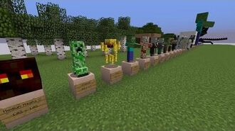 Exact Minecraft Mob Sizes
