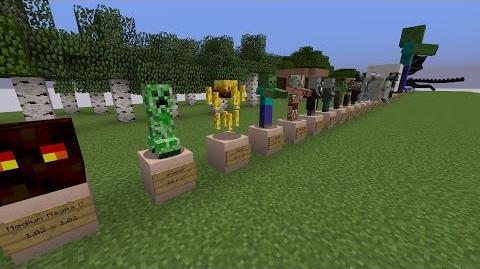 Exact Minecraft Mob Sizes