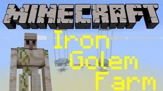Small & relatively easy iron golem farm 1