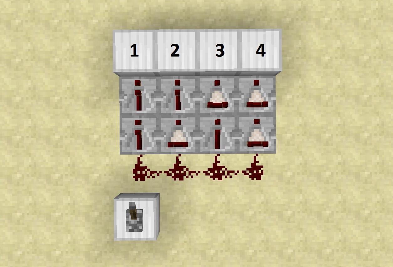 1 Tick Pulse Minecraft Cenksms Clock Redstone Circuits 101 111 Super Fast Vertical 2015 05 22 223914
