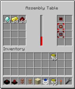 Assembly table technic pack wiki fandom powered by wikia assembly table gui malvernweather Choice Image