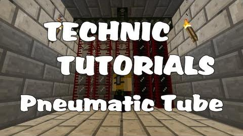 Tekkit how to use pneumatic tubes youtube.