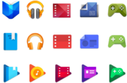 Google Play Service Logos
