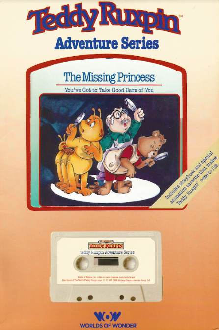 "Teddy Ruxpin ""Do-Along Songbook"" Book And Tape"