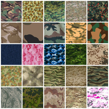 Camouflage Patterns -2