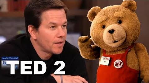 Ted Movie Sequel Confirmed By Mark Wahlberg on Anderson Cooper Live! ENTV