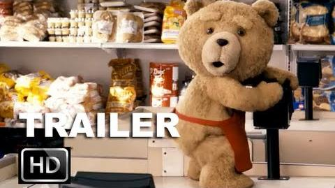 Ted Official Red Band Trailer HD Mark Wahlberg Wishes His Teddy Bear To Life ENTV