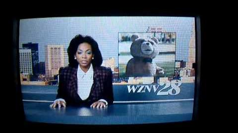 Ted Unrated-News Report Scene