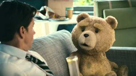 """Ted - Restricted Clip """"John takes a hit of Ted's new weed"""""""