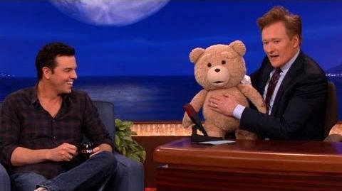 "Seth MacFarlane's ""Ted"" R-Rated Teddy Bear Malfunctions - CONAN on TBS"