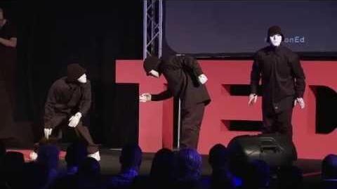 Performance - The Jabbawockeez - TEDxIronwoodStatePrison