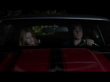 Nina in car with Tyler