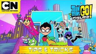 Teen Titans GO! Figure Tips & Tricks Cartoon Network