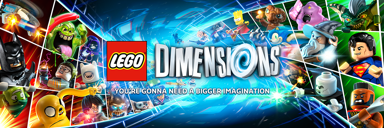 Image - Lego-dimensions-e3-banner.png | Teen Titans Go! Wiki ...