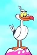Seagull In Jinxed