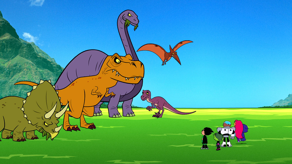 Dinosaurs Teen Titans Go Wiki Fandom Powered By Wikia