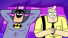 Batman and Gordon Sidekick