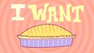 Pie bros text i want pie