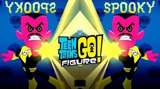Teen Titans GO Figure Battle vs Sinestro - Terra - Trigon (Legion of Doom Update)
