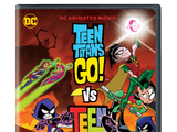 Teen Titans Go! vs Teen Titans (DVD)