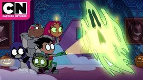 Teen Titans GO! Halloween at the Hive Cartoon Network