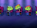 Beast Boy's Emoticlones