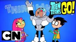 Teen Titans Go! - Rocks And Water (Clip 2)