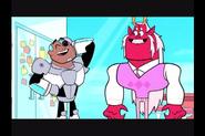 Trigon e Cyborg