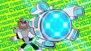 Cyborg in title sequence 1