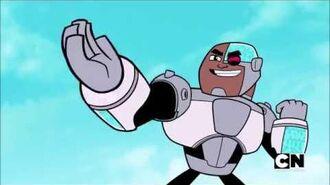 Teen Titans Go! - Teen Titans Learn The Crank Kick (Season 5, Episode 26)