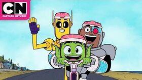 Cyborg's New Best Friend Teen Titans GO! Cartoon Network