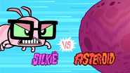 Silkie VS. Asteroid