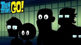 The Crew Which Made Teen Titans Go - Teen Titans Go The 200th Episode CLIP HD !!