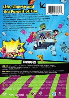 TTG Season 4 Pt 1 DVD Recess is Over back