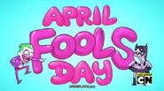 April Fools Backdrop