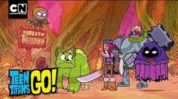 Teen Titans Go! Find A Dragon Cartoon Network
