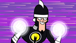Doctor Light preparing to attack
