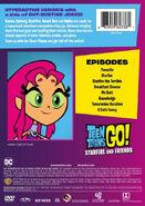 Starfire & Friends DVD Back