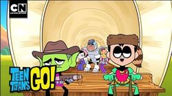 Teen Titans Go! Oregon Trail Cartoon Network