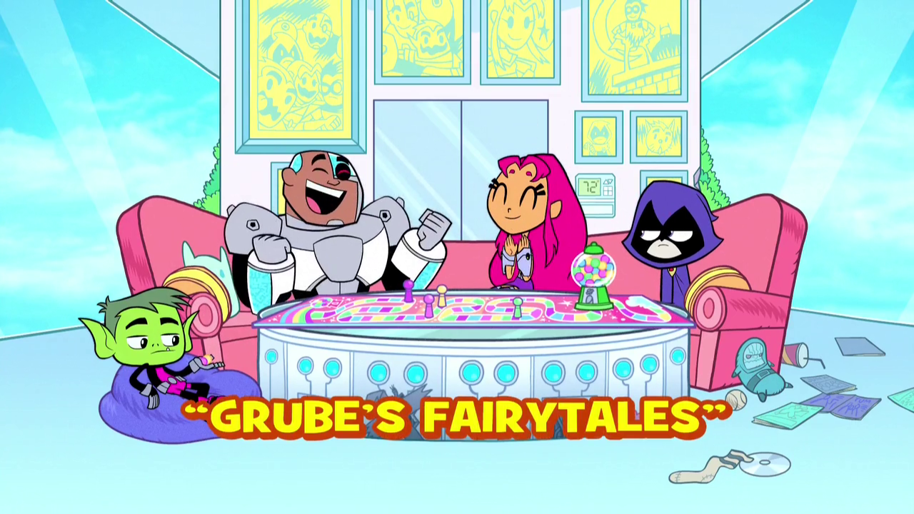 Grube's Fairytales | Teen Titans Go! Wiki | FANDOM powered