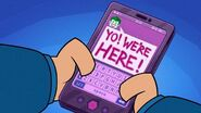 Joker's text to Batman