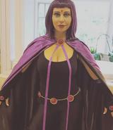 Tara Strong Raven cosplay for Stan Lee Comic COn