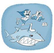 Aqualad Sharkattack