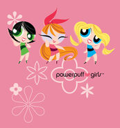 Powerpuff girls color by michael burleigh-d5l37vo