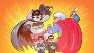 Batmans mom vs Supes Mom
