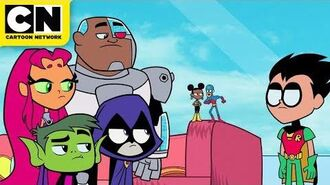 Bumblebee and The Atom Shrink-off! Teen Titans GO! Cartoon Network