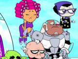 Elderly Teen Titans