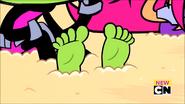 BBRAE-Beast Boy Feet