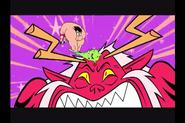 Trigon Gigante vs Super Robin