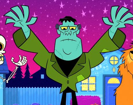 Image - Frankenstein TTG Halloween v Christmas.png | Teen Titans ...